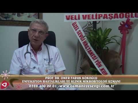 Prof.Dr.Ömer Faruk Kökoğlu Enfeksiyon Hastalıkları ve Klinik Mikrobiyoloji Uzmanı