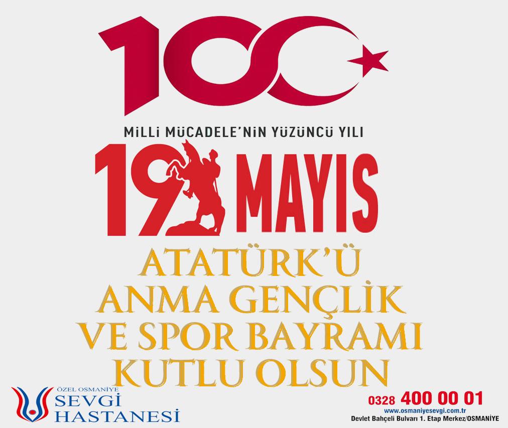 Bağımsızlık yolunda yakılan ışığın koruyucusu gençlerimizin 19 Mayıs Atatürk'ü Anma, Gençlik ve Spor Bayramı'nı kutlarız.