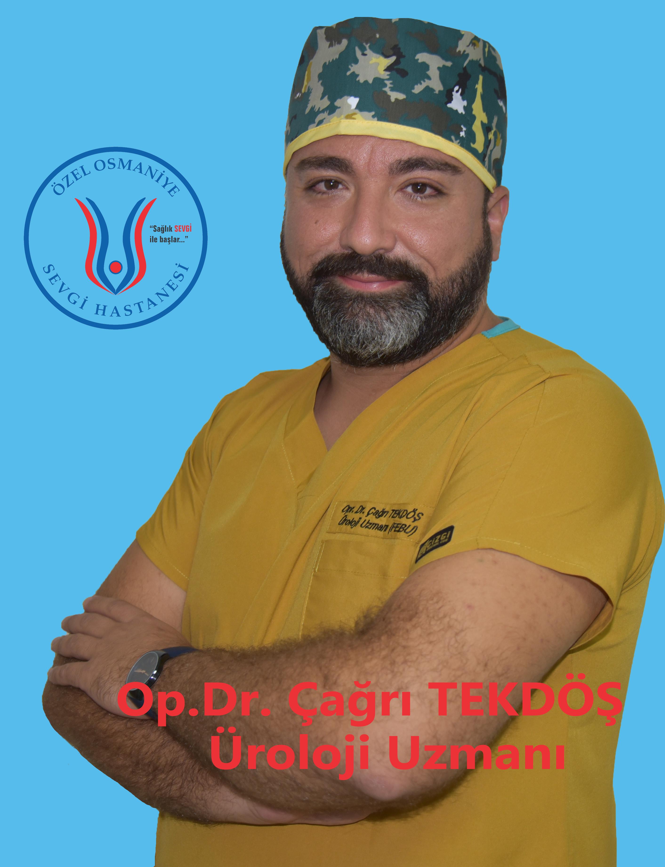 Op.Dr. Çağrı TEKDÖŞ / ÜROLOJİ UZMANI